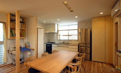 岐阜の家 (ダイニングキッチン)