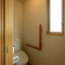 岐阜の家の写真 シンプルなトイレ
