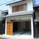 犬山の家の写真 格子戸のある外観