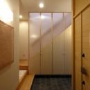 犬山の家の写真 石畳の玄関