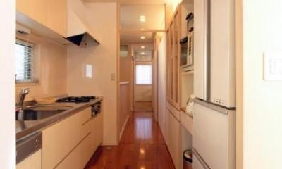 犬山の家 (機能的なキッチン)