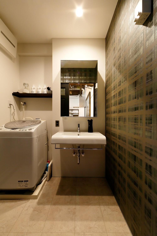 和歌山 戸建てリノベーション (洗面所)