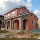 house-NMYの写真 南欧風のレンガの外観