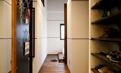 和歌山 戸建てリノベーション (玄関)