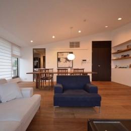 建築家 遠藤誠の住宅事例「岡本N邸 -シンプル&ラグジュアリーのハーフリフォーム-」