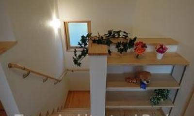 house-NMY (ゆっくり昇降できる勾配のゆるい階段)