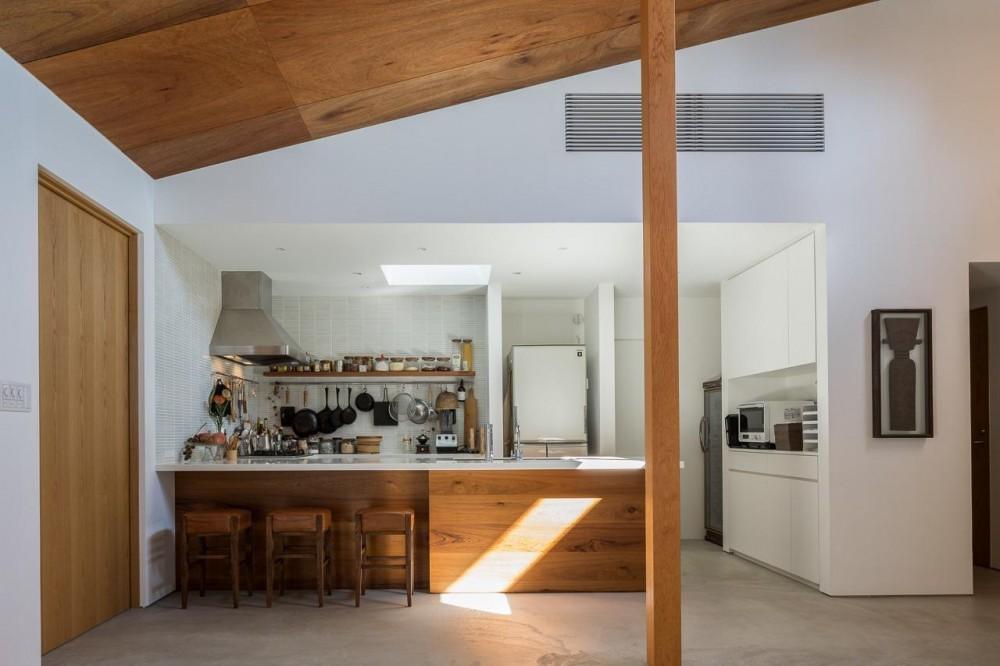 葉山一色の家 (キッチン)