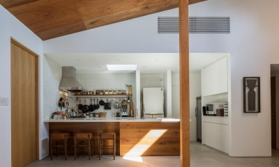 キッチン|葉山一色の家