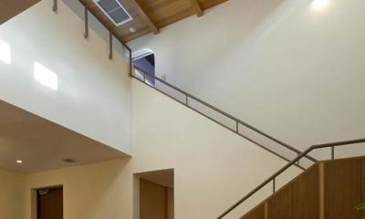 階段吹抜け|sunny side
