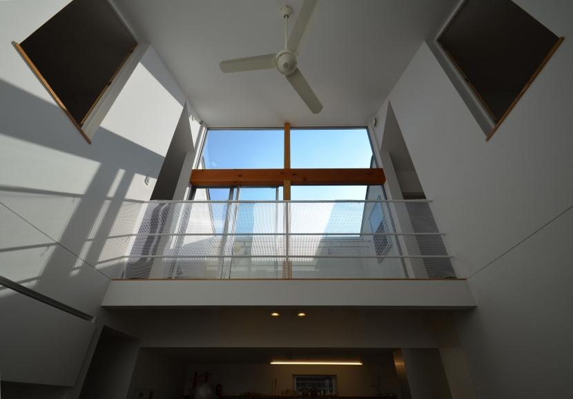 名古屋M邸-高窓のある吹抜け空間を中心としたかもめ食堂- (名古屋M邸01)