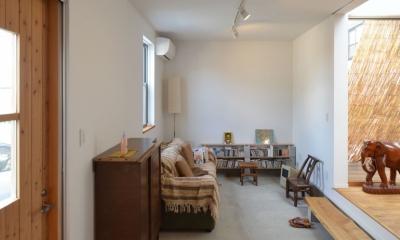 名古屋M邸-高窓のある吹抜け空間を中心としたかもめ食堂- (名古屋M邸04)