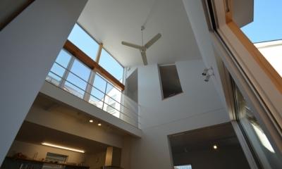 名古屋M邸-高窓のある吹抜け空間を中心としたかもめ食堂- (名古屋M邸06)