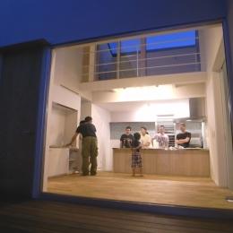 名古屋M邸-高窓のある吹抜け空間を中心としたかもめ食堂- (名古屋M邸07)