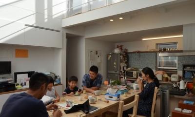 名古屋M邸-高窓のある吹抜け空間を中心としたかもめ食堂- (名古屋M邸08)