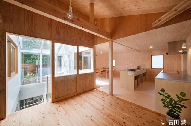 三鷹井の頭戸建てリノベーションPJの部屋 2階にあるキッチン