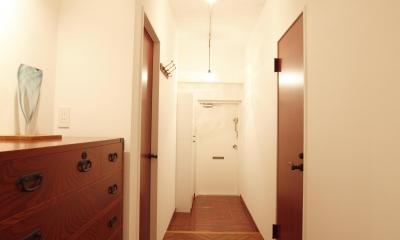 単なる廊下なんて言わせない。こだわりの廊下、見せます。 (単なる廊下とは言わせない)