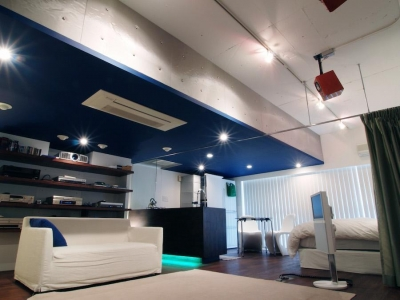 リビング (NAUTILUS-ホームシアターのある夢の部屋)