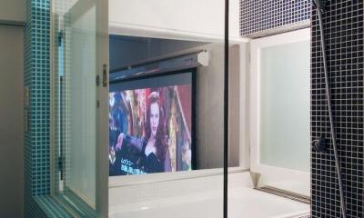 NAUTILUS-ホームシアターのある夢の部屋 (バスルーム)