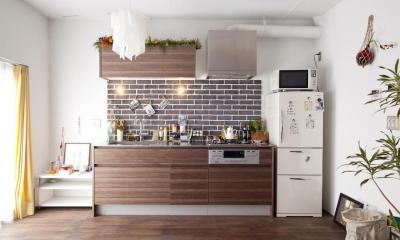 I邸-セミオーダーのリノベで「カフェ部屋」 (キッチン)