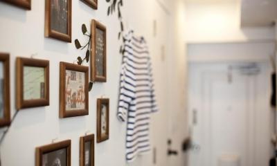 I邸-セミオーダーのリノベで「カフェ部屋」 (壁)