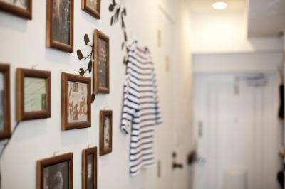 壁 (I邸-セミオーダーのリノベで「カフェ部屋」)