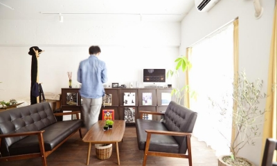 リビング|I邸-セミオーダーのリノベで「カフェ部屋」