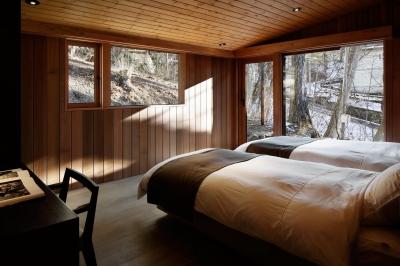 寝室1 (南吉ヶ沢山荘)