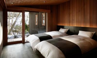 寝室2|南吉ヶ沢山荘