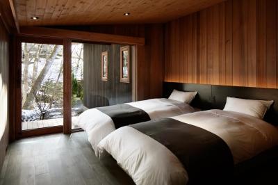 寝室2 (南吉ヶ沢山荘)