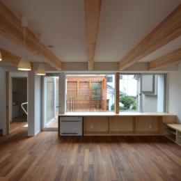 徳丸Y邸-高密度でもゆとりある庭を配した二世帯住宅--徳丸Y邸01