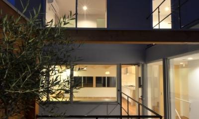 徳丸Y邸-高密度でもゆとりある庭を配した二世帯住宅- (徳丸Y邸02)