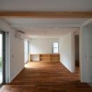 徳丸Y邸-高密度でもゆとりある庭を配した二世帯住宅-
