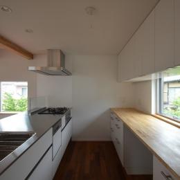 徳丸Y邸-高密度でもゆとりある庭を配した二世帯住宅--徳丸Y邸06