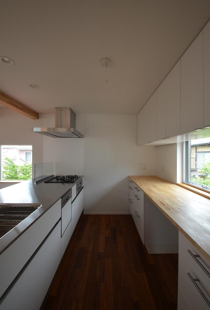 徳丸Y邸-高密度でもゆとりある庭を配した二世帯住宅- (徳丸Y邸06)