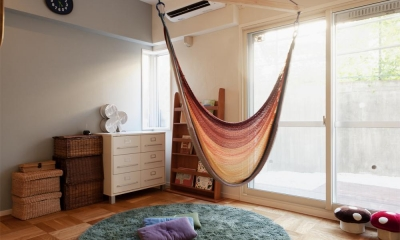 子ども部屋|間取りを変えず、自然素材でイメージ一新