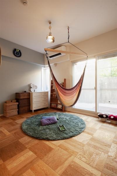 子ども部屋 (間取りを変えず、自然素材でイメージ一新)