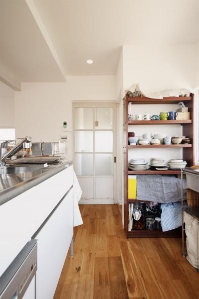 キッチン (二人で楽しく・・・手作り感満載のいえ)