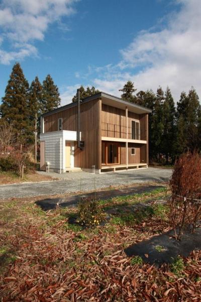米沢の家/自然素材のエコハウス (外観)