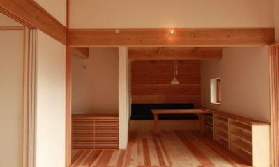 米沢の家/自然素材のエコハウス (ダイニング)