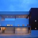 House-MSD【 White Rainbow-白虹- 】の写真 大屋根がインパクトのある外観