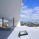 House-MSD【 White Rainbow-白虹- 】の写真 大屋根の下の開放的な空間
