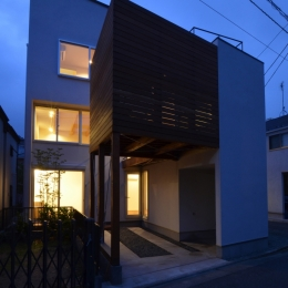 徳丸Y邸-高密度でもゆとりある庭を配した二世帯住宅- (徳丸Y邸10)