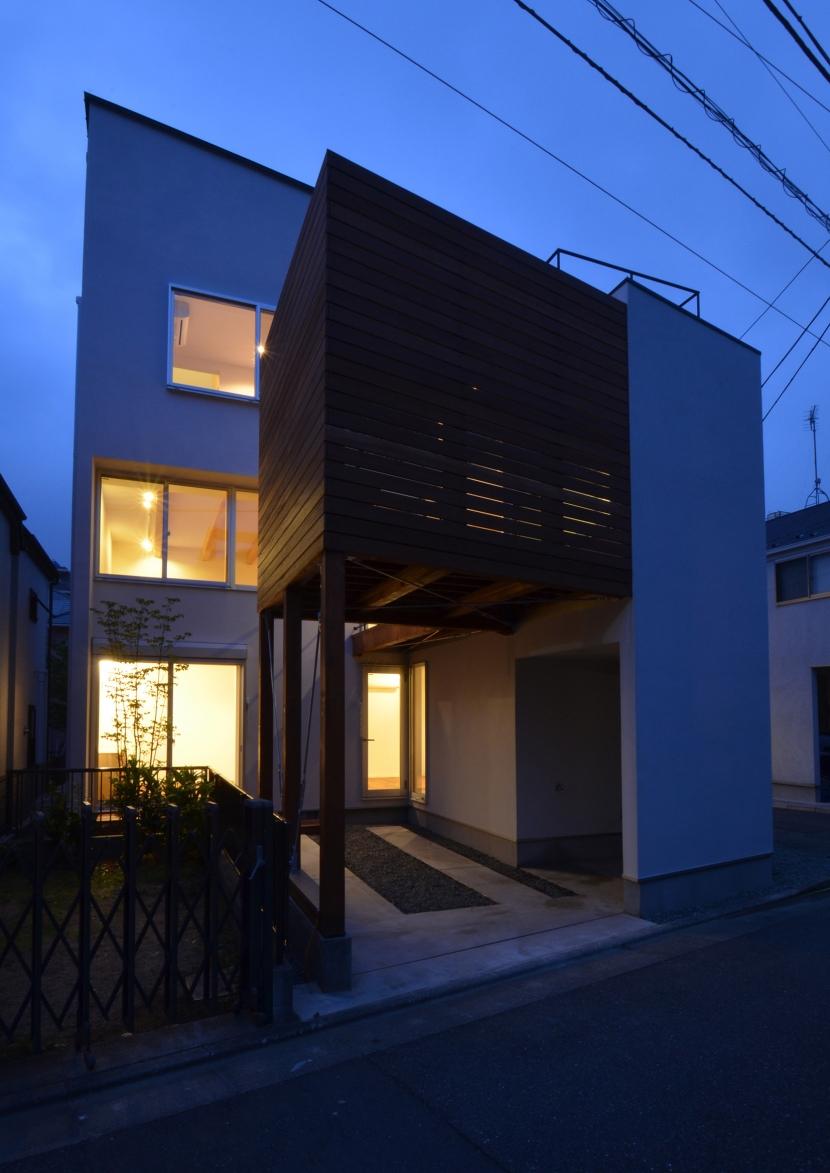 徳丸Y邸-高密度でもゆとりある庭を配した二世帯住宅-の部屋 徳丸Y邸10