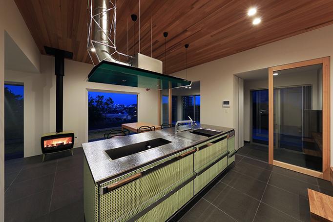 House-MSD【 White Rainbow-白虹- 】の部屋 こだわりのキッチン