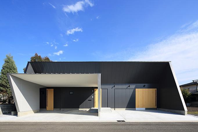 House-KNMR【 Lberg 】の写真 モダンな外観