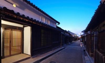 今井町の家ー伝統的町家を新しく開発した耐震フレームで現代のライフスタイルにあったリノベーションを実現ー