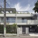 ミッドセンチュリーテイスト 成城にてゆったりと住まうの写真 南外観