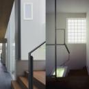 ミッドセンチュリーテイスト 成城にてゆったりと住まうの写真 廊下・階段