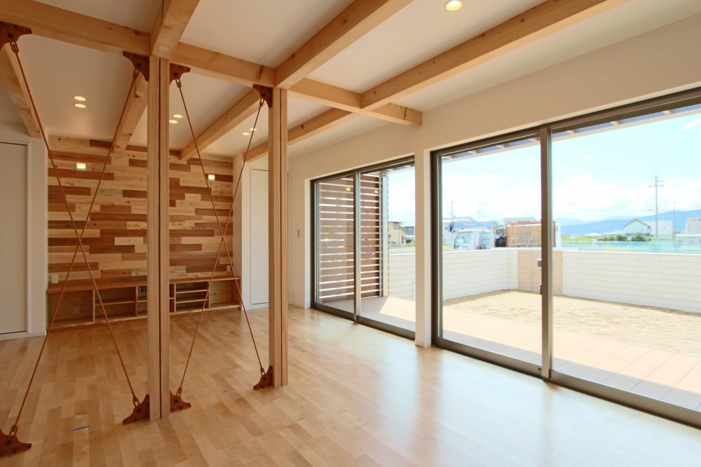 GARDEN HOUSE (リビング)