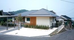 鳥取市 O様邸 (不整形の宅地に建つ住宅)